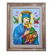 Imagem - Quadro - Nossa Senhora do Perpétuo Socorro - 52 cm x 42 cm cód: 19194775