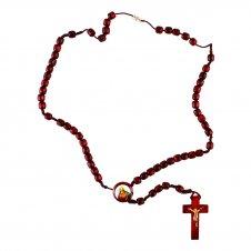 Imagem - Terço de Madeira Sagrado Coração de Jesus cód: F1301243