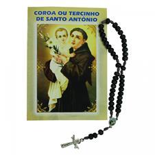 Imagem - Terço com Folheto de Santo Antônio - 17812936