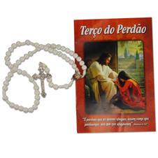 Imagem - Terço com Folheto do Perdão - 15640158