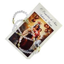 Terço com Folheto Nossa Senhora do Carmo