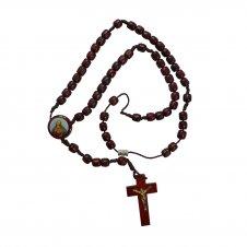 Imagem - Terço de Madeira Sagrado Coração de Jesus cód: NTFF1301244