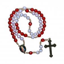 Imagem - Terço de Santa Faustina - Mod. 2 cód: TR110