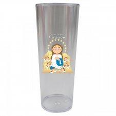 Imagem - Copo Long Drink Nossa Senhora da Imaculada Conceição Infantil cód: CLDNSICIT