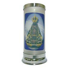 Imagem - Porta Vela Jateado - Nossa Senhora Aparecida cód: 14471642