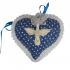 Pingente de Porta de Coração com Divino Espírito Santo 2