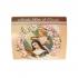 Cartão com Mini Terço Santa Rita de Cássia 2