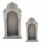 Capela Branca em MDF - 24 cm 3