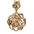 Medalha Folheada de Rosa Nossa Senhora Aparecida