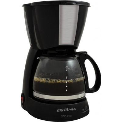 Cafeteira Britania 15 Cafes-Preto-110v