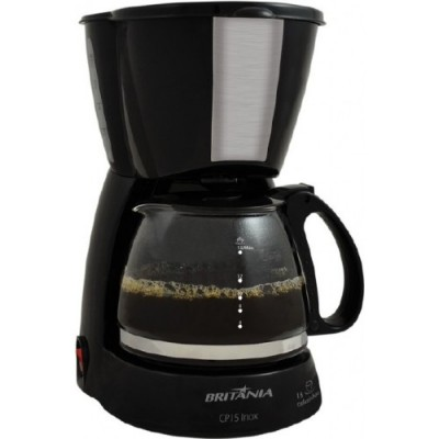 Cafeteira Britania 15 Cafes-Preto-220v