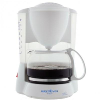 Cafeteira Britania 30 Cafes-Branco-220v