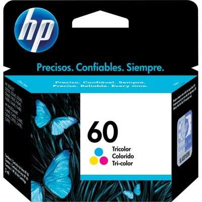 Cartucho De Tinta Hp Suprimentos Cc643Wb Hp 60 Tricolor 6,5Ml