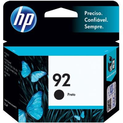 Cartucho De Tinta Hp Suprimentos C9362Wb Hp 92 Preto 5,5Ml