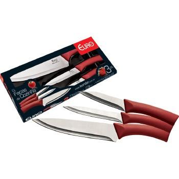 Conjunto De Facas De Cozinha Euro Home 3 Pecas - BBQPL-3VM