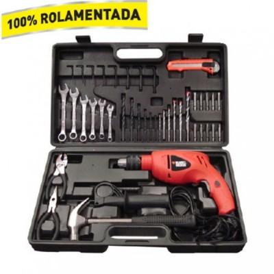 Furadeira B D Kit 40 Pecas 550W  Hd560 - Kr560Kbr - 110v