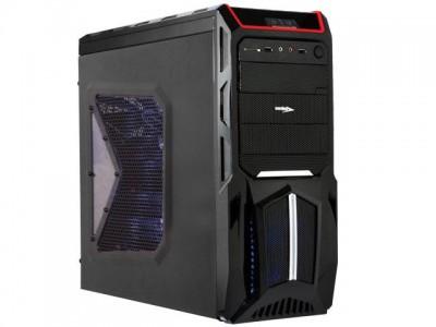 Gabinete Desktop Gamer Sentey Gs-6000 II Entusiasta Optimus II Preto