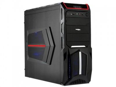 Gabinete Desktop Gamer Sentey Gs-6000R Entusiasta Optimus Preto/Vermelho