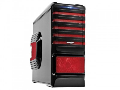 Gabinete Desktop Gamer Sentey Gs-6500R Entusiasta Burton Vermelho