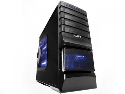 Gabinete Desktop Gamer Sentey Gs-6510 Entusiasta Burton Plus Preto