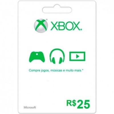 Game Microsoft  Branded 25 Brl  Xbox Live - K4W-01440
