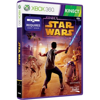 Game Microsoft Kinect Star Wars Xbox 360 - TED-00034
