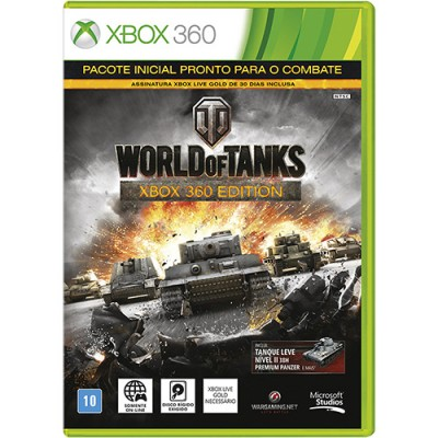 Game Microsoft World Of Tanks Xbox 360 - 4ZP-00004