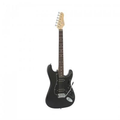 Guitarra 2 Humbuckers Preta G102 GIANNINI