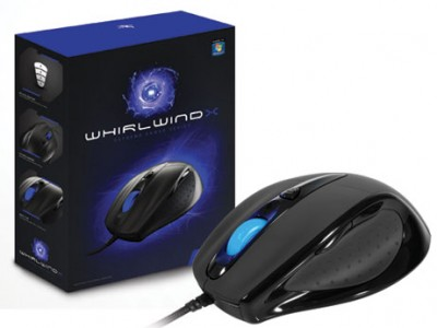 Mouse Gamer Sentey Gs-3320 Whirlwind X Laser Optico 3200Dpi Usb Preto