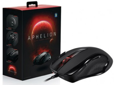 Mouse Gamer Sentey Gs-3520 Aphelion 3400Dpi Laser Optico Usb Preto