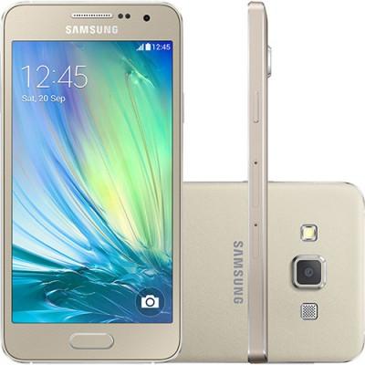 Smartphone Samsung Galaxy A3 4G Duos A300M 16 GB Quad Core 1,2 Ghz DualChip Cam8.0 MP WiFi  4G 4.5''