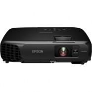 Projetor Epson Powerlite S18+ com 3000 Lumens, Alto Falante e USB 3 em 1