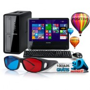 Computador Positivo K5190 Core I3 3.30 GHz 4Gb Hd 1Tb Windows 8 Monitor 18.5 - 1000755
