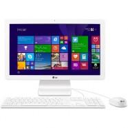 Computador Aio Lg 21,5 Intcelqc 4gb Wifi Hd500 W8 - 22v240-l.bk31p1
