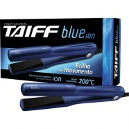 Chapinha Prancha Alisadora de Cerâmica BLUE ÍON Bivolt Azul TAIFF