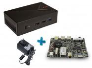 Barebone Ultratop Liva Dual Core N2808 2Gb Ssd 32Gb Hdmi Vga Usb Rede Acompanha Gabinete E Fonte