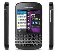 Smartphone Blackberry Q10 Preto com Tela 3,1 16GB Cam 8MP QWERTY aGPS MP3 Wi-Fi e 4G