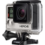 Câmera Digital GoPro Hero 4 Black Adventure 12MP WiFi Bluetooth Gravação 4K