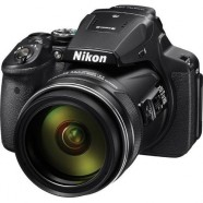 Câmera Nikon Coolpix P900 16,0 MP DSLR Zoom 83x Lente 2.000 Mm Wi-Fi + NFC