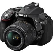 Câmera Nikon DSLR D5300 com Lente 18-55mm
