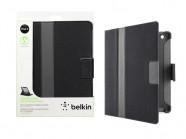 Capa Para Ipad2 / Ipad3 / Ipad4 Belkin Folio Cinema Magnetico Couro Sintetico Preto/Cinza