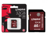 Cartao De Memoria Classe 10 Kingston Sdhc 32Gb Uhs-I U3 Ultimate SDA3/32GB
