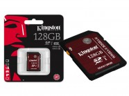 Cartao De Memoria Classe 10 Kingston Sdxc 128Gb Uhs-I U3 Ultimate SDA3/128GB