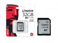 Cartao De Memoria Classe 10 Kingston Secure Digital Sdhc 32Gb Uhs-I SD10VG2/32GB