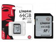 Cartao De Memoria Classe 10 Kingston Secure Digital Sdxc 64Gb Uhs-I SD10VG2/64GB