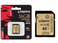 Cartao De Memoria Classe 10 Kingston Secure Digital Ultimate Sdhc 16Gb Uhs-I SDA10/16GB