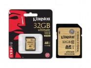 Cartao De Memoria Classe 10 Kingston Secure Digital Ultimate Sdhc 32Gb Uhs-I SDA10/32GB
