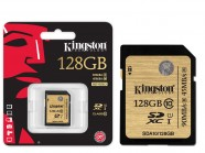 Cartao De Memoria Classe 10 Kingston Secure Digital Ultimate Sdxc 128Gb Uhs-I SDA10/128GB