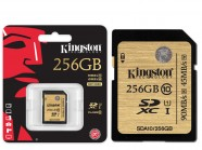 Cartao De Memoria Classe 10 Kingston Secure Digital Ultimate Sdxc 256Gb Uhs-I SDA10/256GB