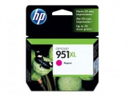 Cartucho De Tinta Officejet Hp Suprimentos Cn047Ab Hp 951Xl Magenta 17 Ml
